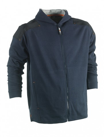 heroch jupiter hooded sweater marineblauw Herock