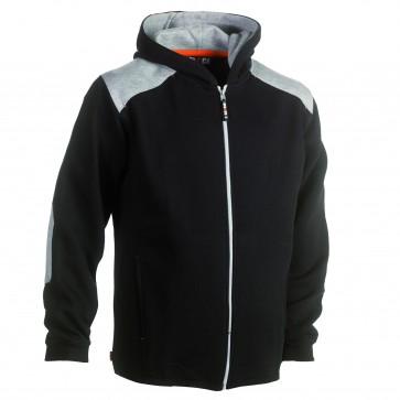 Hooded sweater Juno hoodie Herock zwart