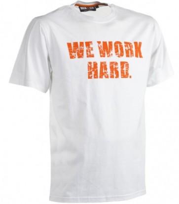 Anubis T-Shirt met korte mouw Herock wit