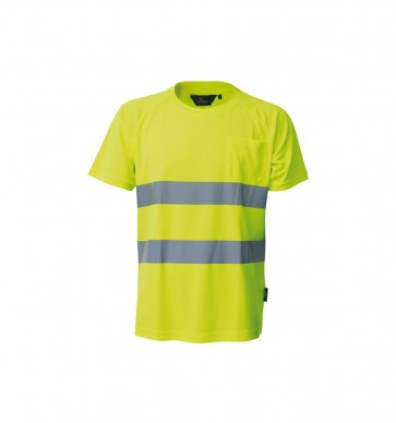 HIGH VISIBILITY t-shirt met korte mouwen