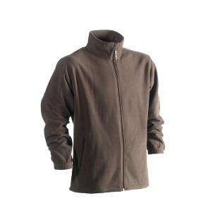 Fleece vest Darius bruin herock