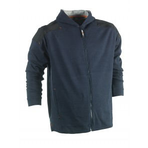 heroch jupiter hooded sweater marineblauw Herock