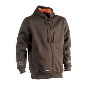 Hooded sweater Odysseus hoodie Herock bruin