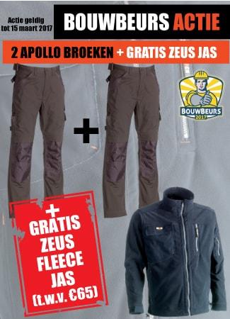 Gratis Zeus bij 2 Apollo broeken
